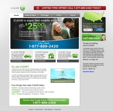 Clearwire Microsite